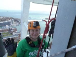 2015_Zara Qema abseil Spinnaker Tower for Amelia Tong MF - web