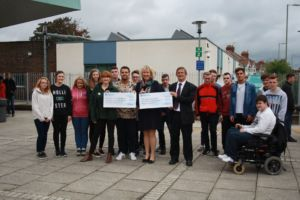 eastleigh college cheque presentation