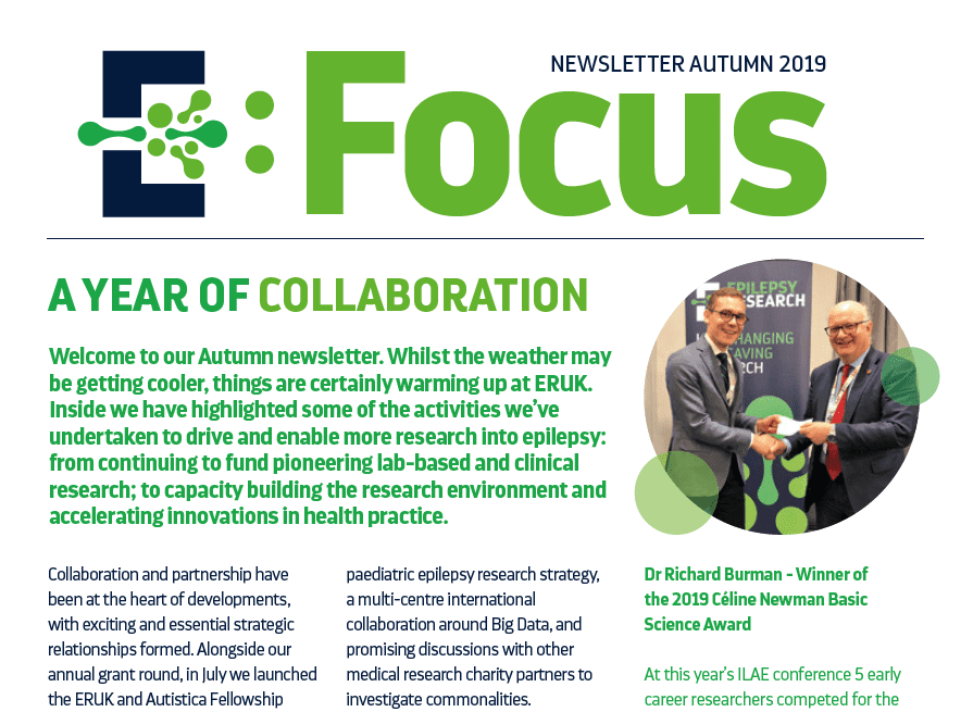 Focus newsletter autumn front page