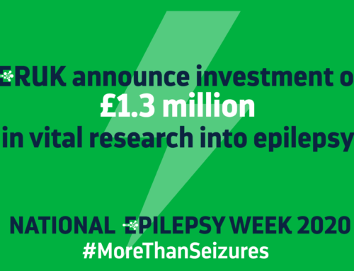 ERUK announce £1.3m research investment for National Epilepsy Week